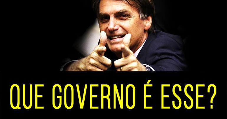 conjuntura em movimento, que governo é esse, jair bolsonaro, homem apontando o dedo, homem ameaçando, presidente do brasil