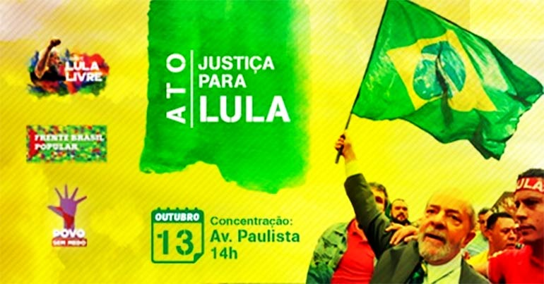 Ato Justiça Para Lula