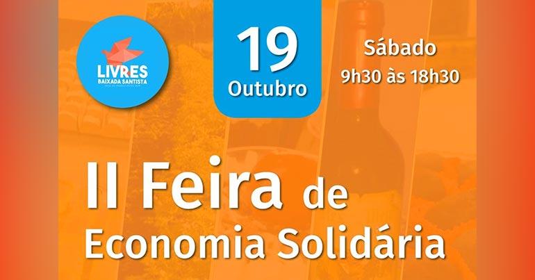 2ª Feira de Economia Solidária - Livres: Feira de Primavera