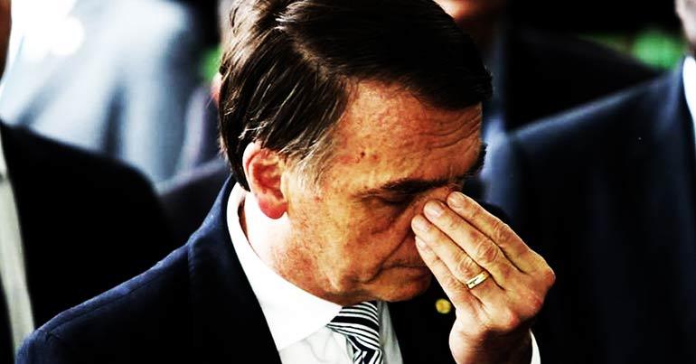 Bolsonaro se fodeu!