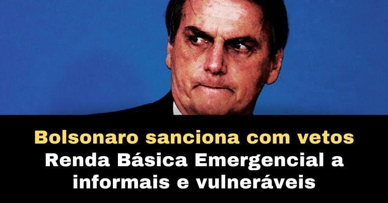 renda básica emergencial