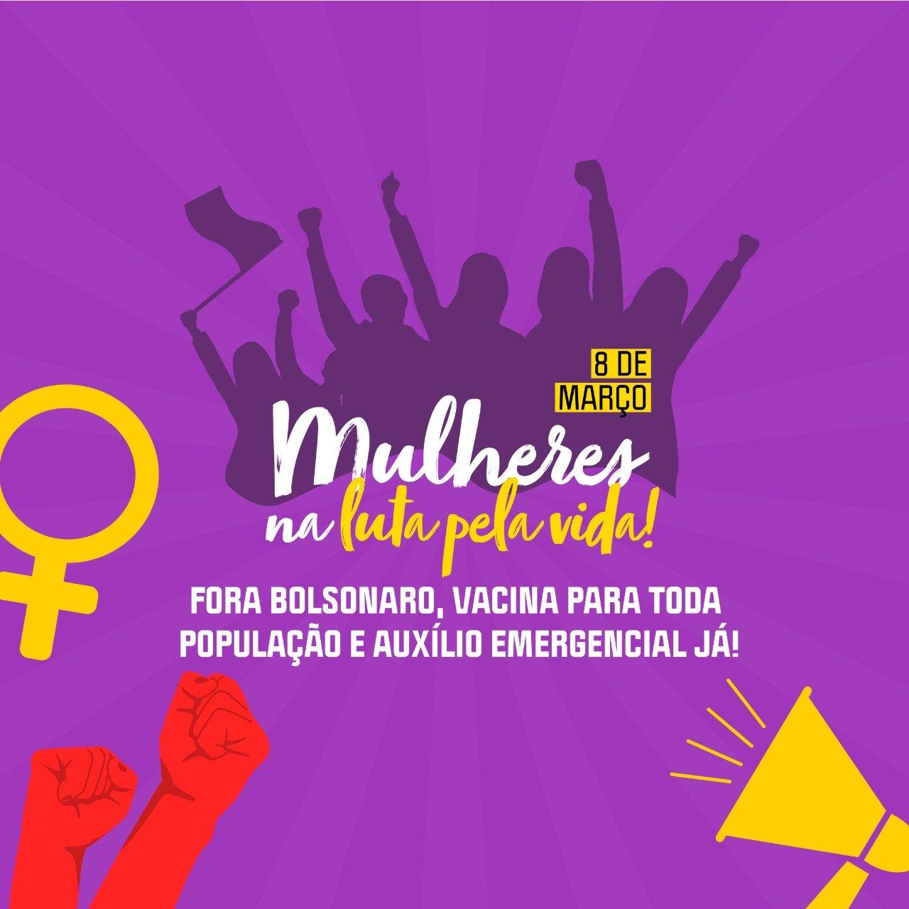 Dia das Mulheres - 8 de Março