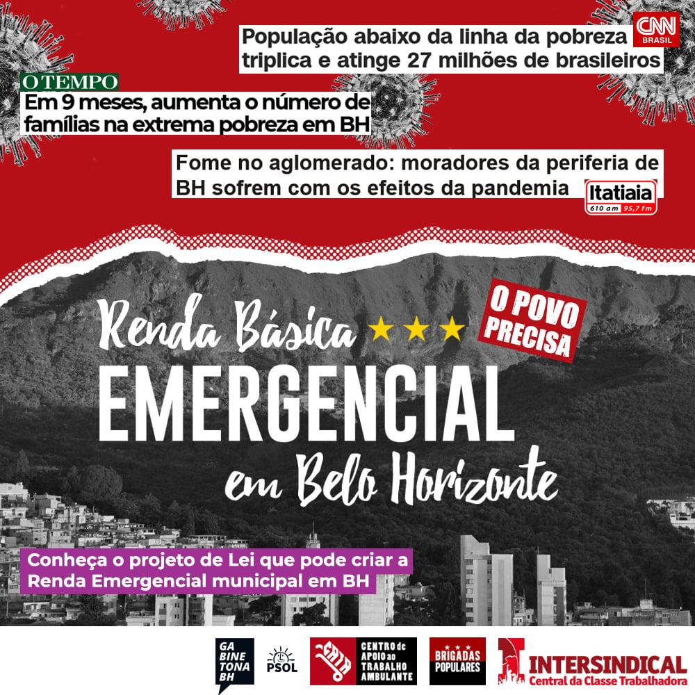 renda basica emergencial em belo horizonte bh